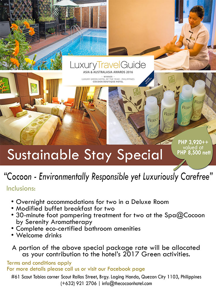 Cocoon Boutique Hotel QC Promo 6